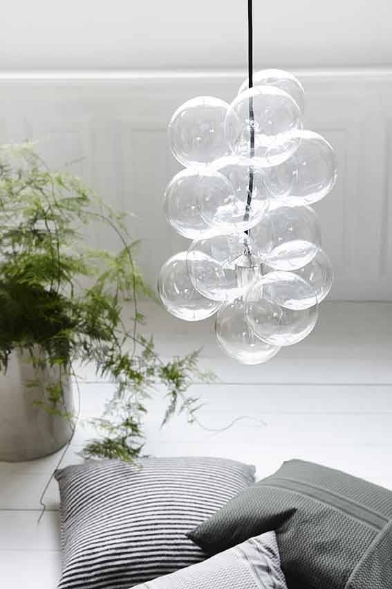Fonkelnieuw Lamp DIY glass balls (With images)   Glass ball pendant lighting QK-01