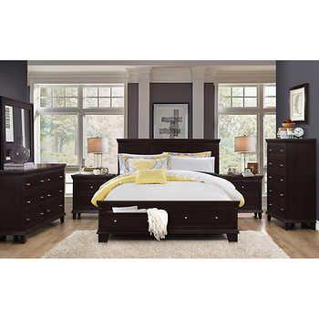 Alton 6 Piece Queen Storage Bedroom Collection Bedroom Furniture Inspiration Furniture Contemporary Bedroom Decor