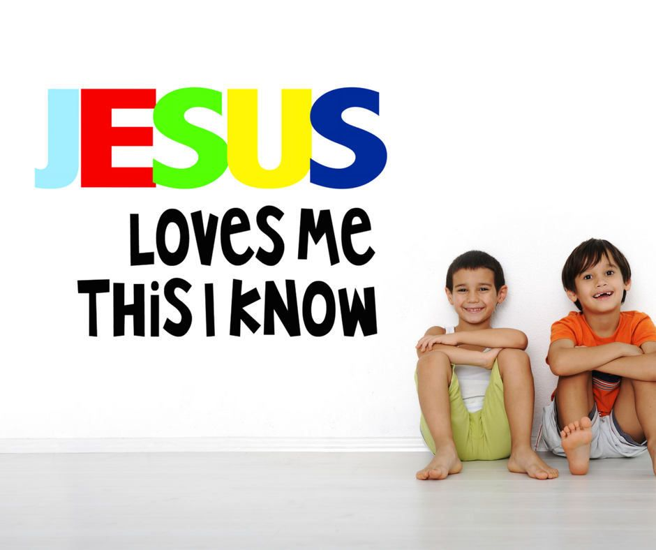 Jesus Loves Me Vinyl Wall Decal, Heu0027s Got The Whole World Decal, This Little  Light Decal, My God Is So Big, Sunday School Church Preschool