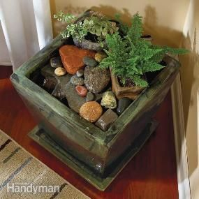 Build An Indoor Water Fountain Diy Fountain Diy Water Feature