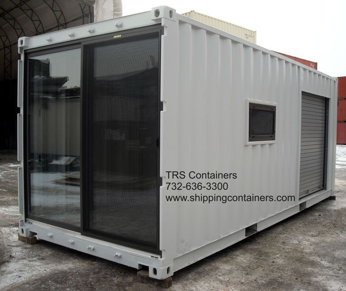 Trs Container Room With Sliding Door