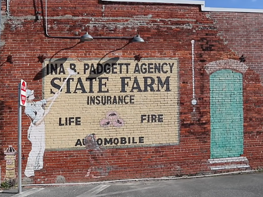 Old advertising, Florida in 2020 State farm insurance