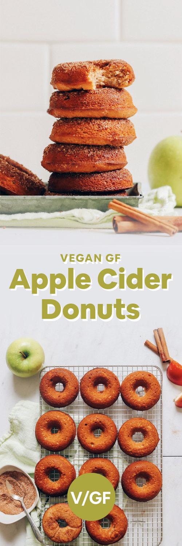 Vegan Baked Apple Cider Donuts Minimalist Baker Recipes Recipe In 2020 Apple Cider Donuts Baking Vegan Baking