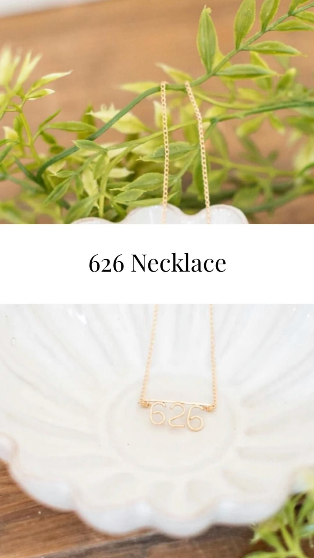 626 Gold Necklace