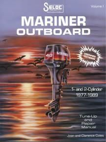 Mariner Outboard 1977 1989 1 2 Cyl Service Repair Manuals Repair Manuals Outboard Repair