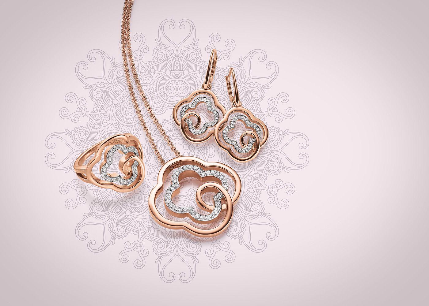 Flirty flowers viventy jewels silberschmuck jewelry pinterest