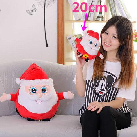 $9.45 (Buy here: http://appdeal.ru/5s3o ) 1pc 20cm New Nice Christmas Gift Staffed Father Christmas Elk Penguin Plush Toy with Music Kawaii Toy  for just $9.45