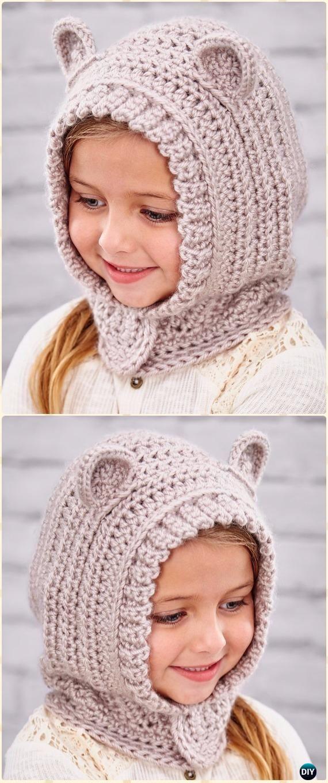 Crochet Happy Hoodie Free Pattern - Sudadera con capucha de ...