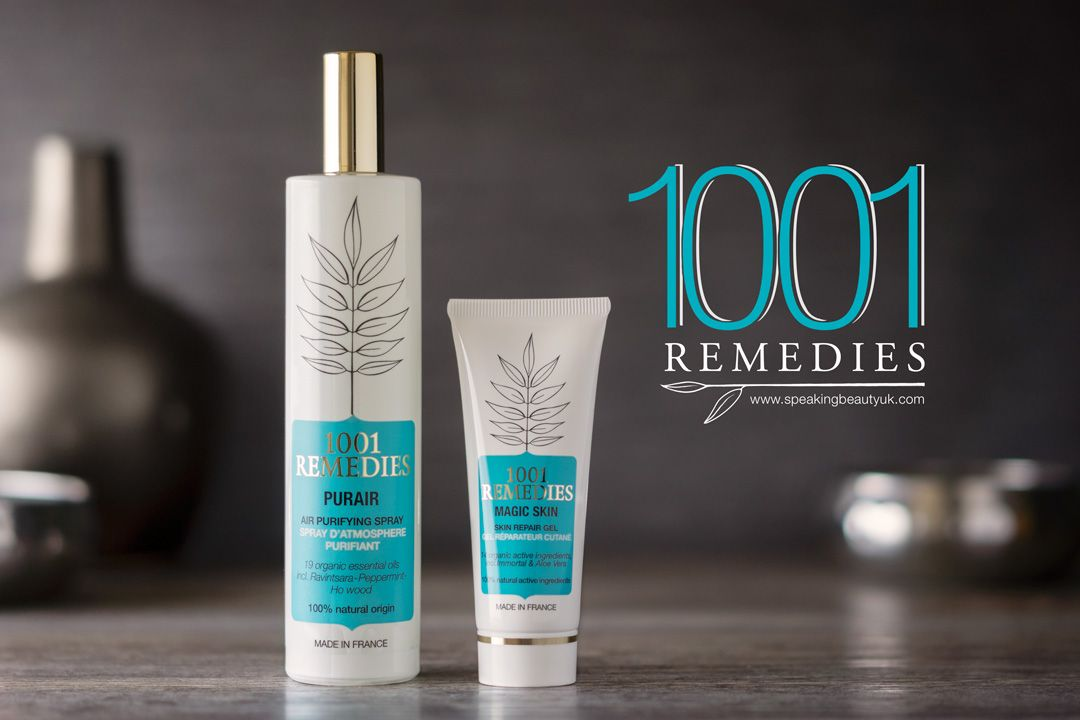 Today I'm gonna talk about a brand that is new to me. 1001 Remedies* is an ethical aromatherapy range that aims to provide beauty and mindful health. They offer herbal remedies with 100% natural and o