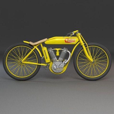 motorbike vintage obj – Vintage Motorbike… by mmvis Bycicle Illustration, Byci…