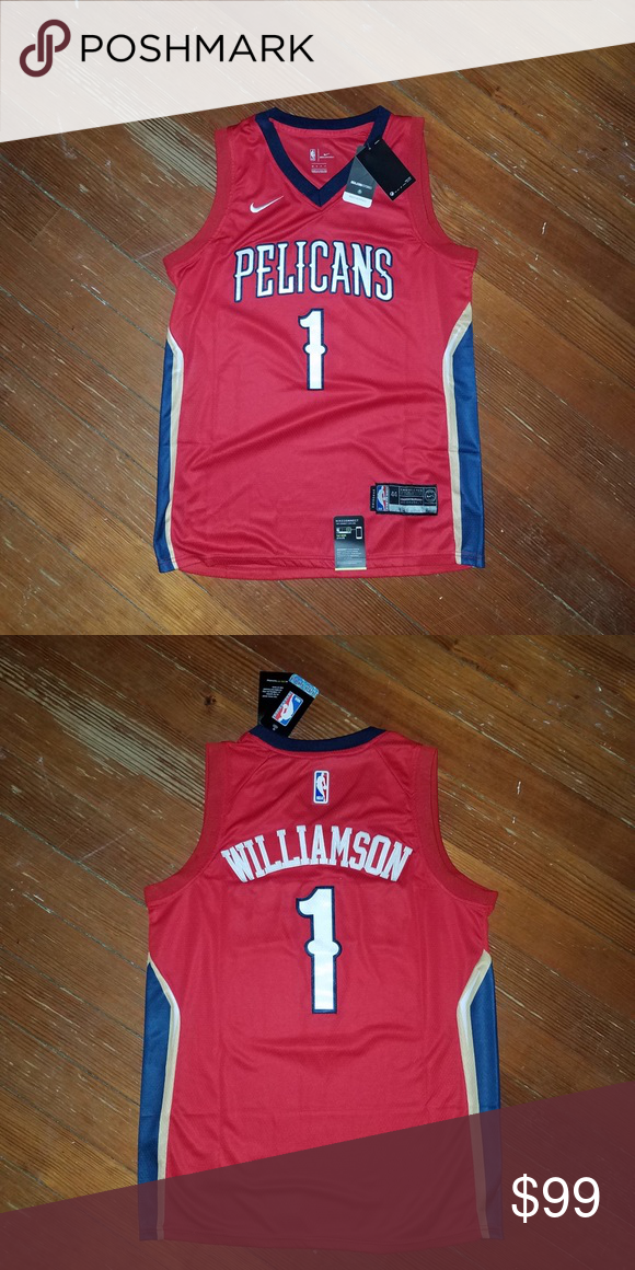Zion Williamson New Orleans Pelicans Jersey Zion Williamson
