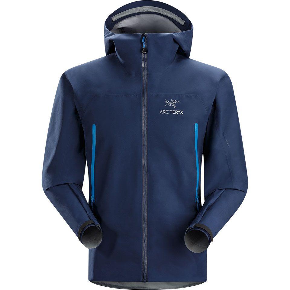 la chaqueta azul
