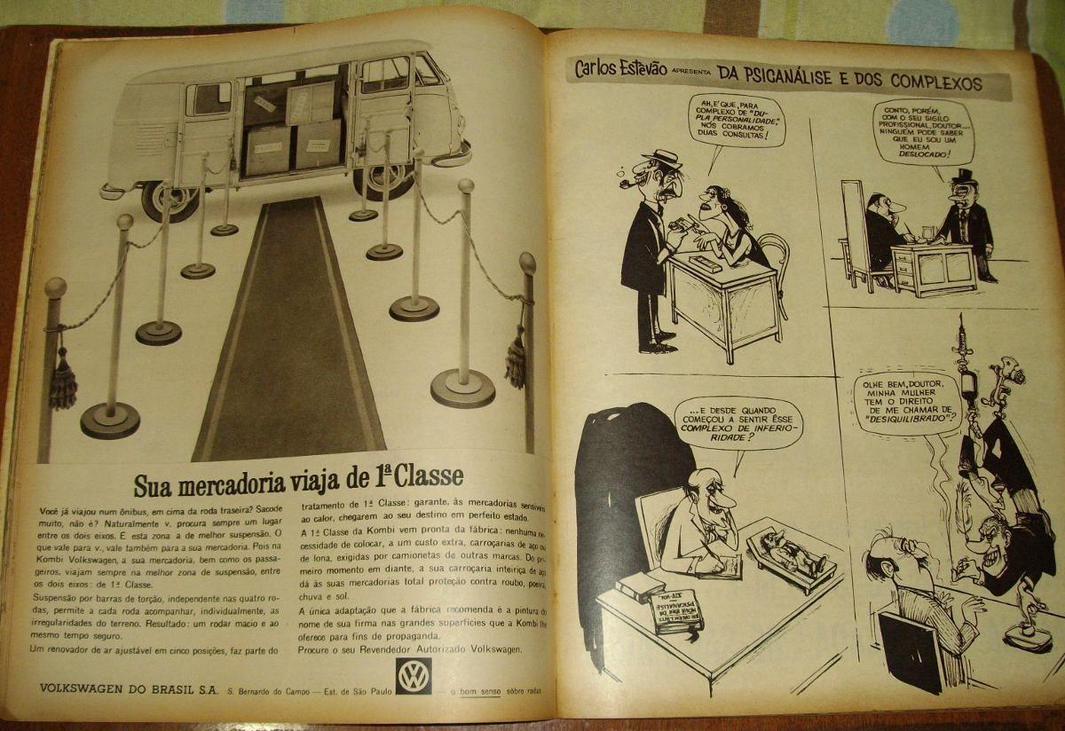 Revista Cruzeiro Antiga Anos 60 Carnaval Propagandas Vintage - R$ 60,00 no MercadoLivre