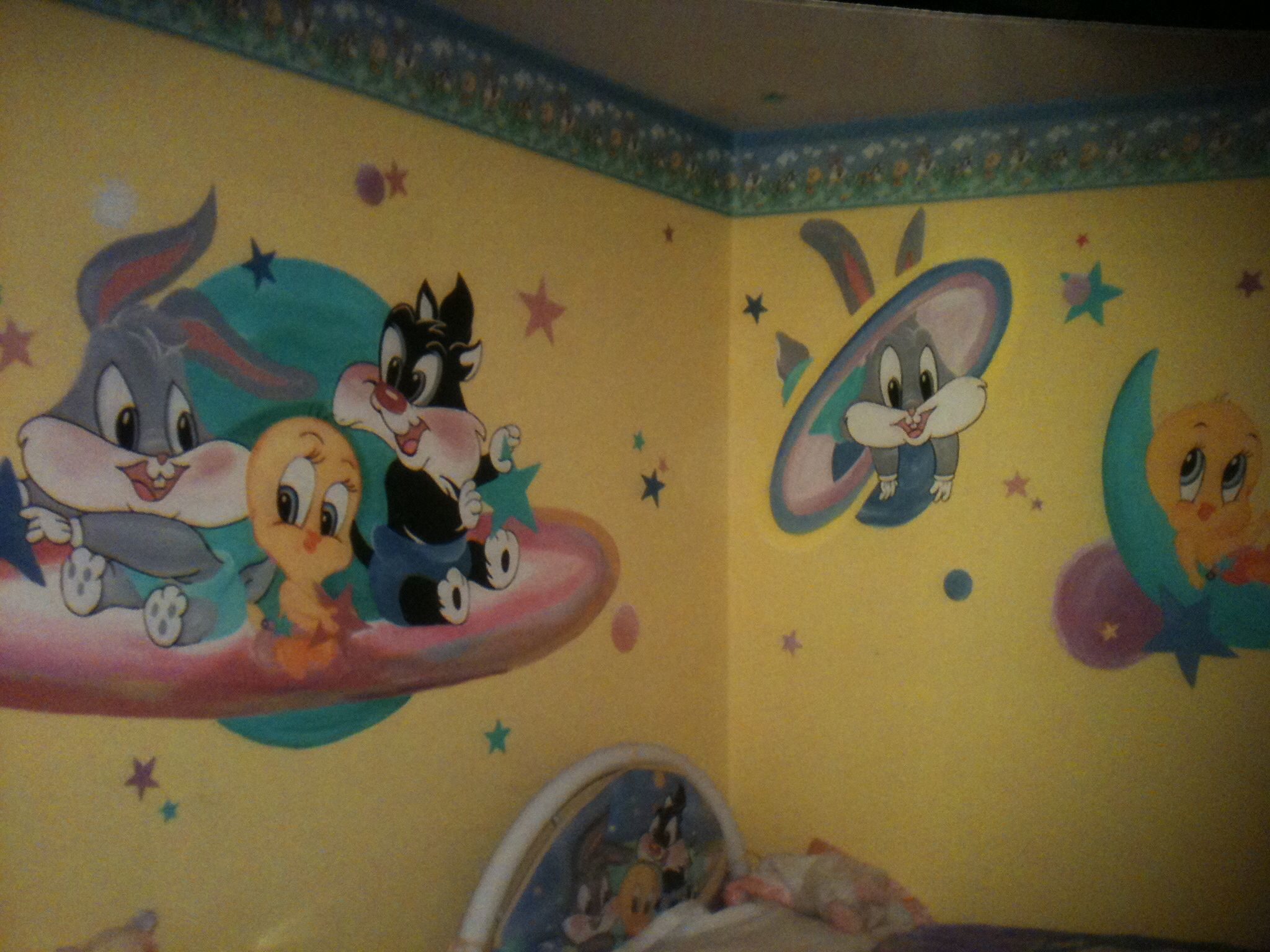 Looney Tunes Room With Images Baby