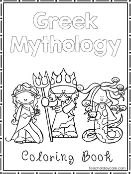 Greek Mythology Coloring Book Worksheets Preschool 2nd Grade Greek Mythology Worksheets Coloring Books Greek Mythology