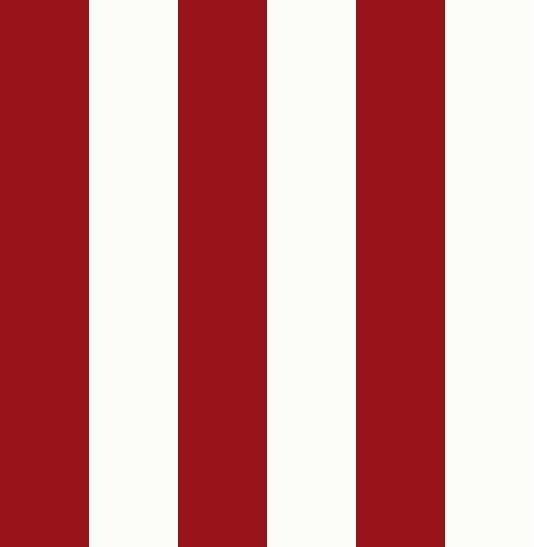 An Alternative Wallpaper Nantucket Stripe Wallpaper A Smart Red And Off White Wide Striped Wallpaper Striped Wallpaper Wallpaper Striped Wallpaper Design