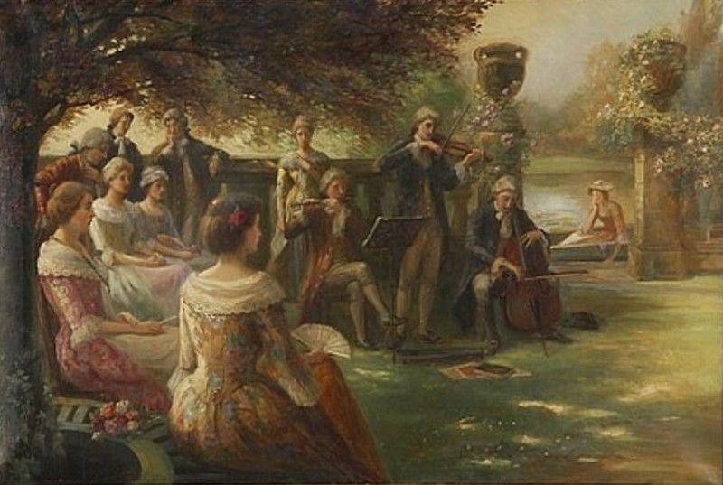 Frank Bramley - Genre scene (1893)