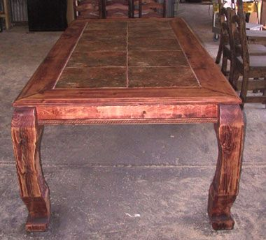 Western Furniture Ranch Style Pub Height Dining Table  For The Glamorous Western Style Dining Room Sets Review