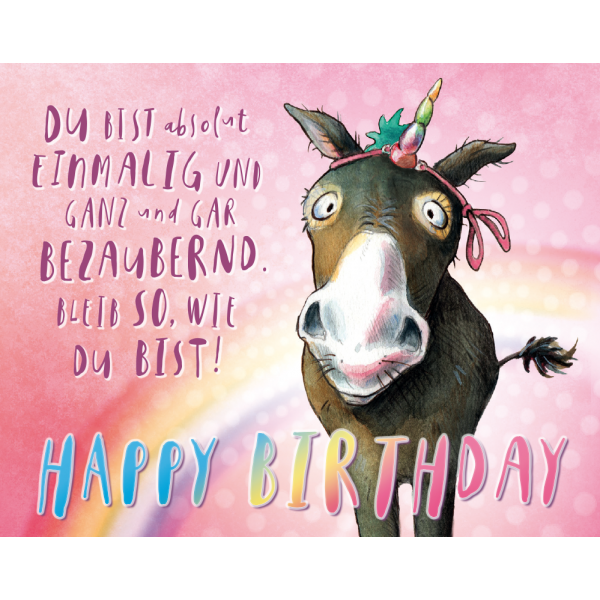 Die besten 25 einhorn happy birthday ideen auf pinterest happy birthday karte happy birthday - Pinterest 50 geburtstag ...