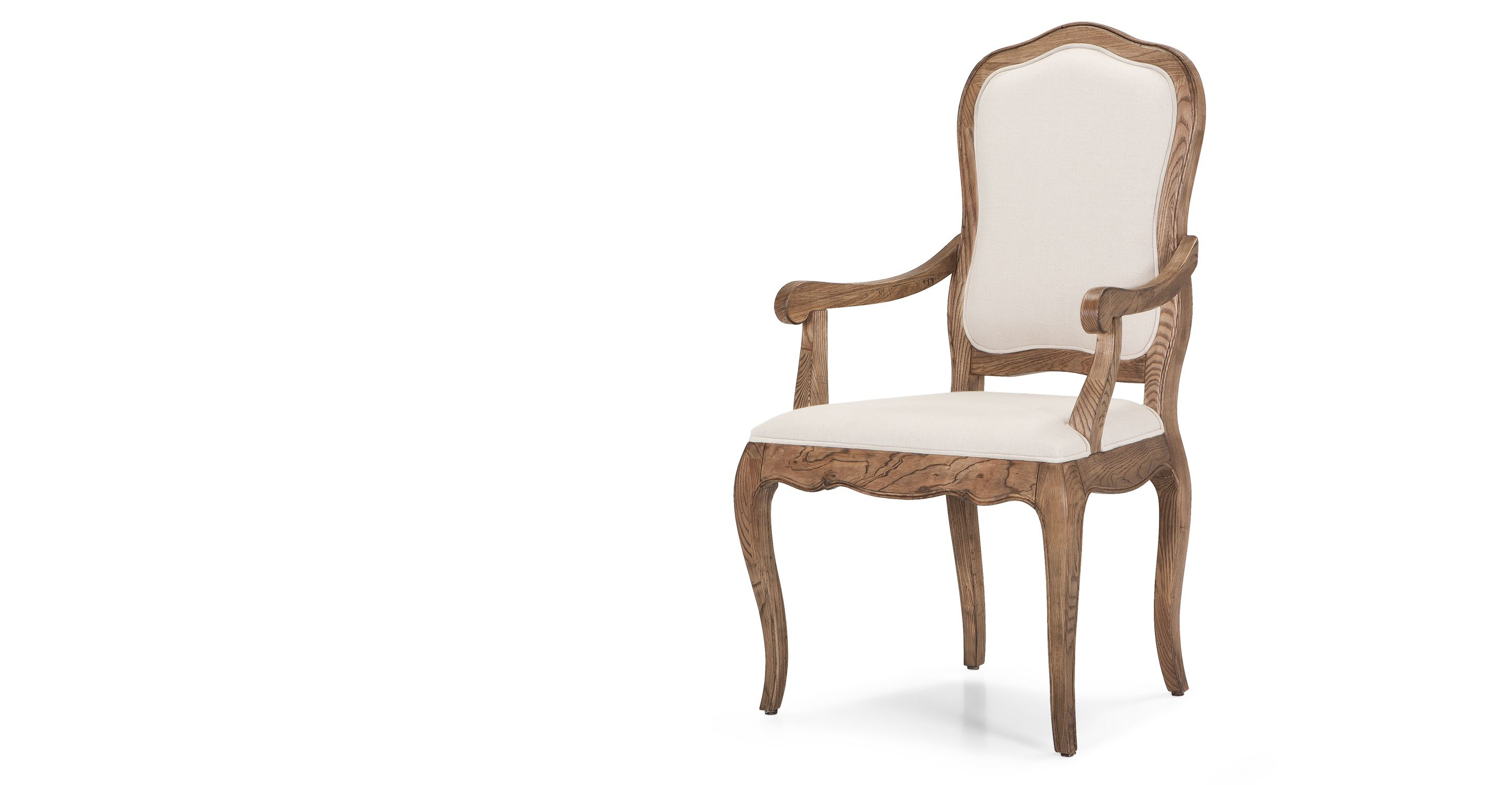 Marie Dining Chair In Natural Ash And Nougat Beige Made Com For
