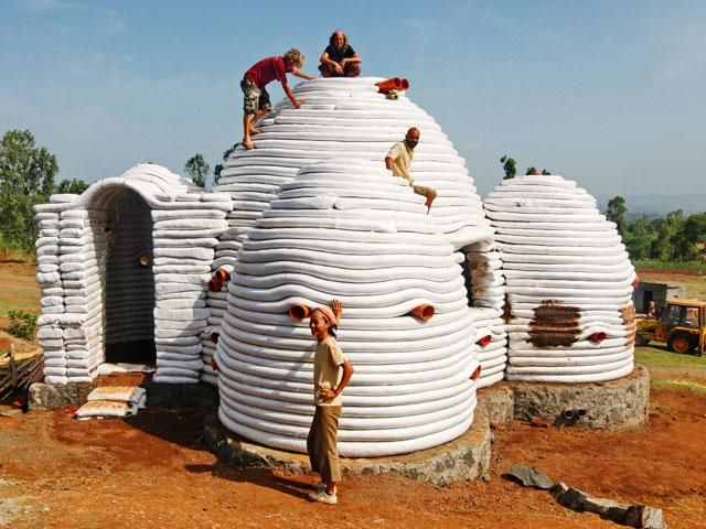 Superadobe sustainable human shelters - May 30, 2013 | The .