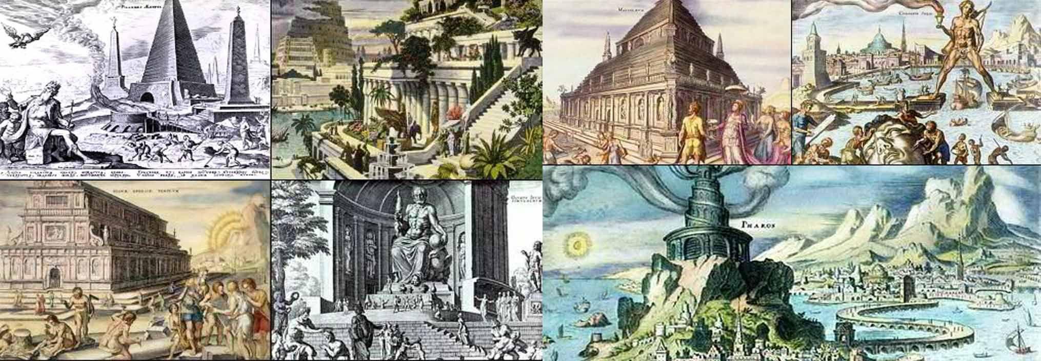 Seven Ancient Wonders.jpg (2030×704) - http://www.blogadilla.com ...
