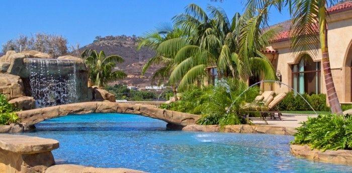 160 Tolle Bilder Von Luxus Pool Im Garten Piscine Villa Piscine A Debordement