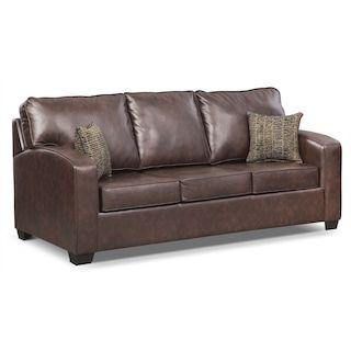 539 Sale Value City Brookline Queen Innerspring Sleeper Sofa Brown American Leather Sleeper Sofa Leather Sleeper Sofa Sleeper Sofa