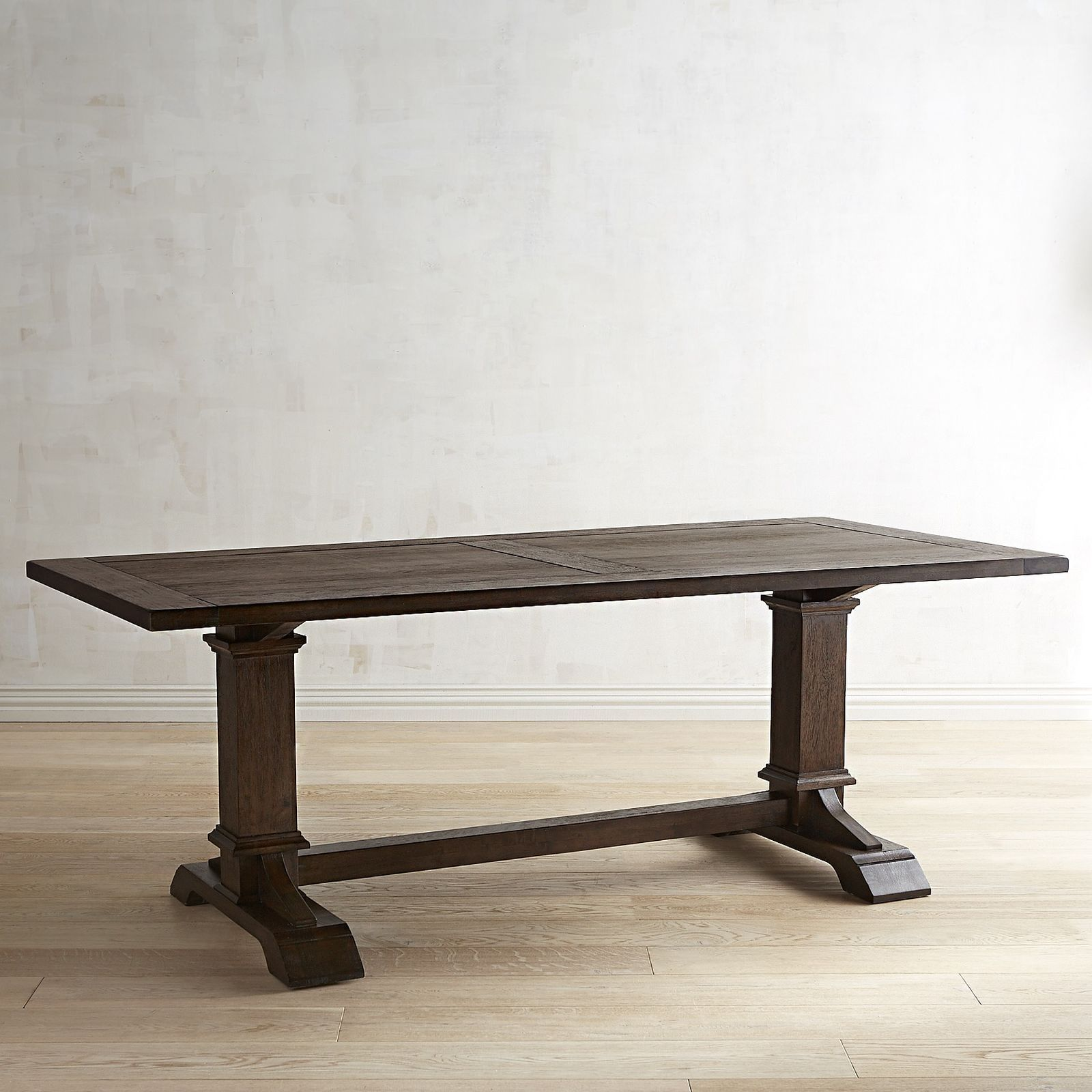 Designed exclusively for Pier 1  our Dawson Dining. Walnut Brown Rectangular Dining Table   Traditional  The o jays