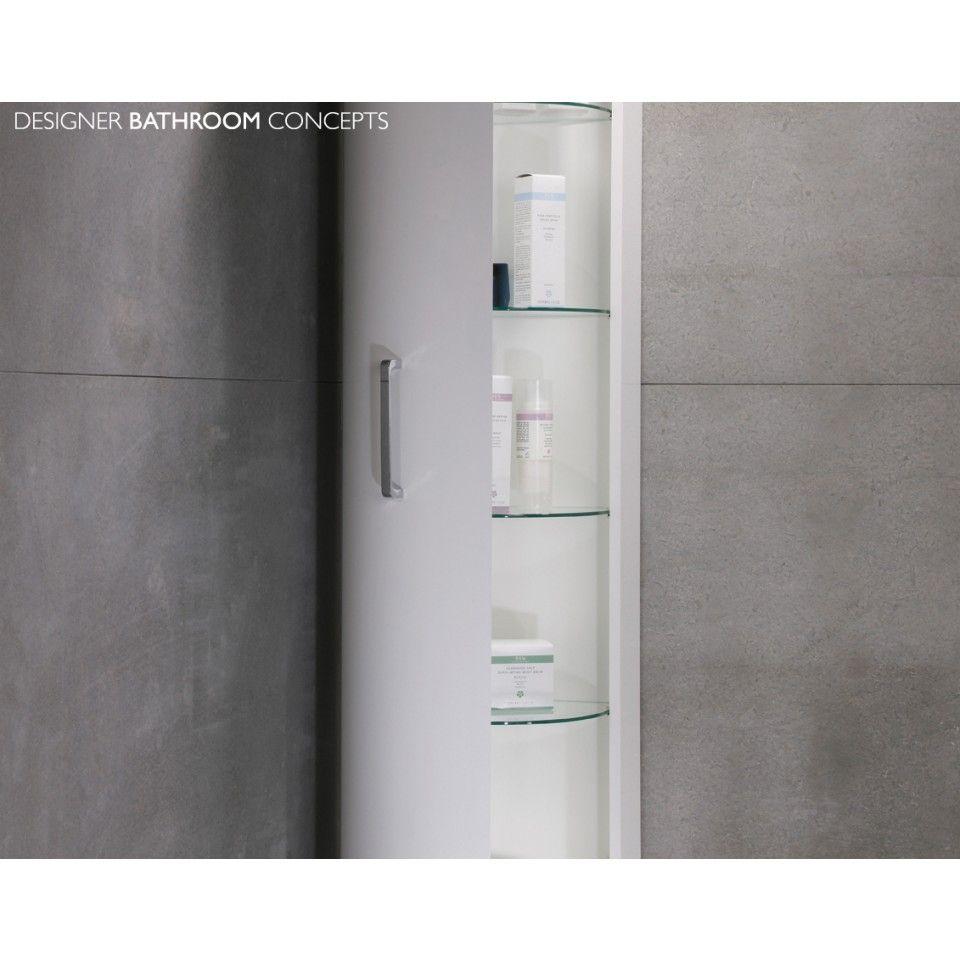 black gloss corner bathroom cabinet