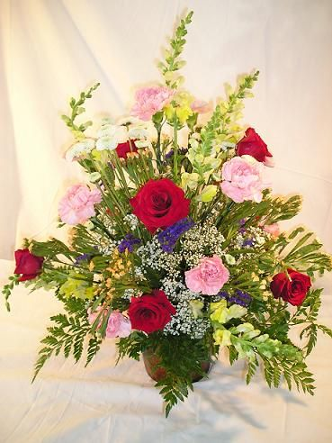 "Flowers Arrangement Pictures floral arrangements ideas |  flowers and moss "" anniversary"