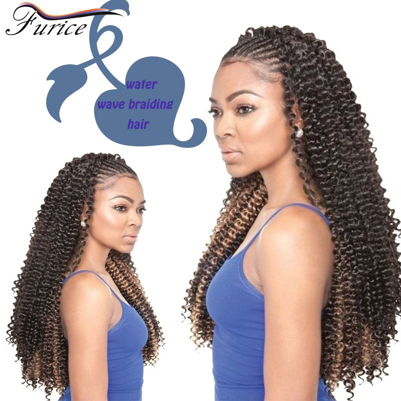 18inch Water Wave Twist Braid Curly Top Quality Synthetic Hair
