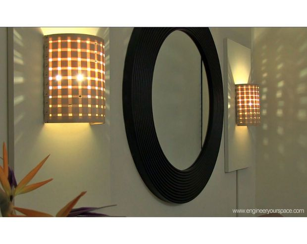 DIY How To Make A Wall Lamp (sconce)