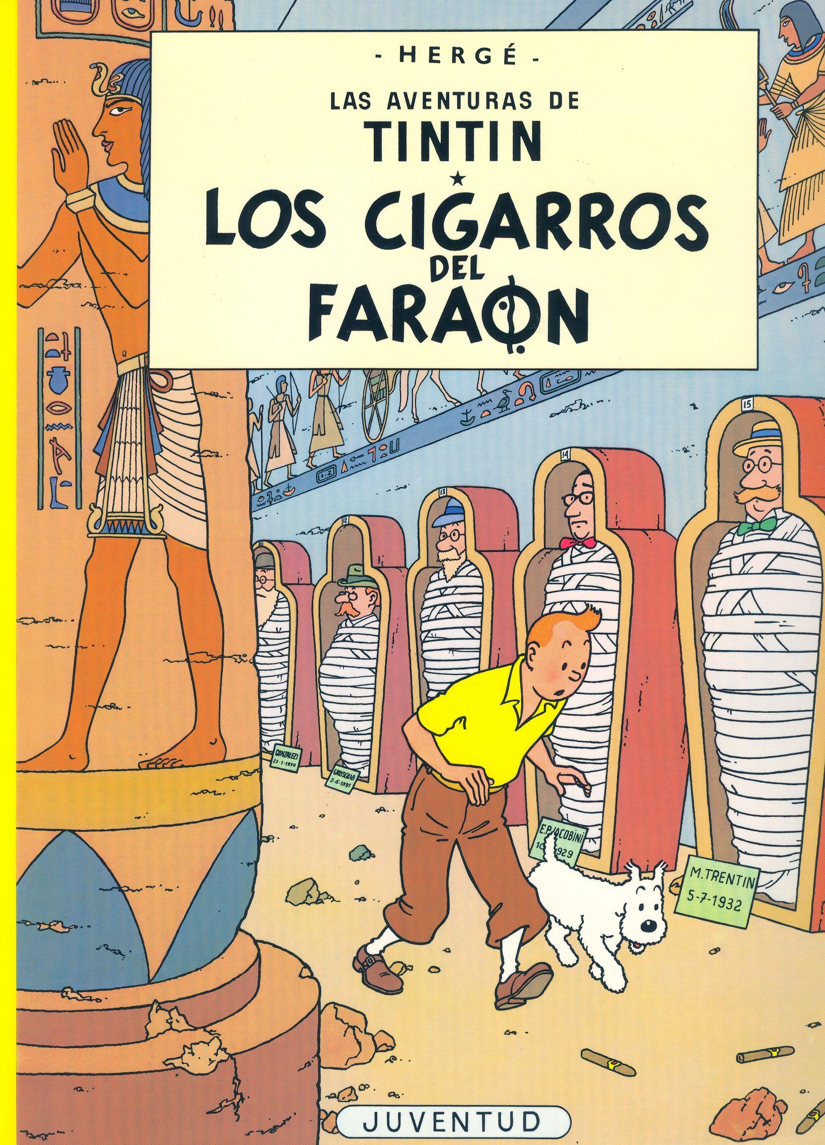 Tintín. Los cigarros del faraón