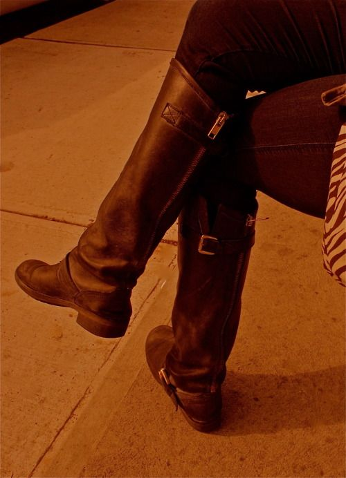 estética de lujo despeje Venta de descuento 2019 Steve Madden Boots seen in Toronto at Ezra's Pound(Amazing Coffee ...