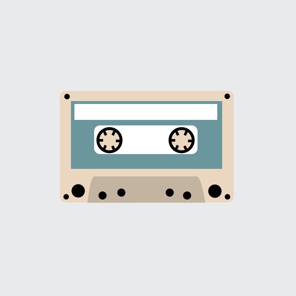Antique Cassette In Pixelmator Pixelmator Cassette Antiques