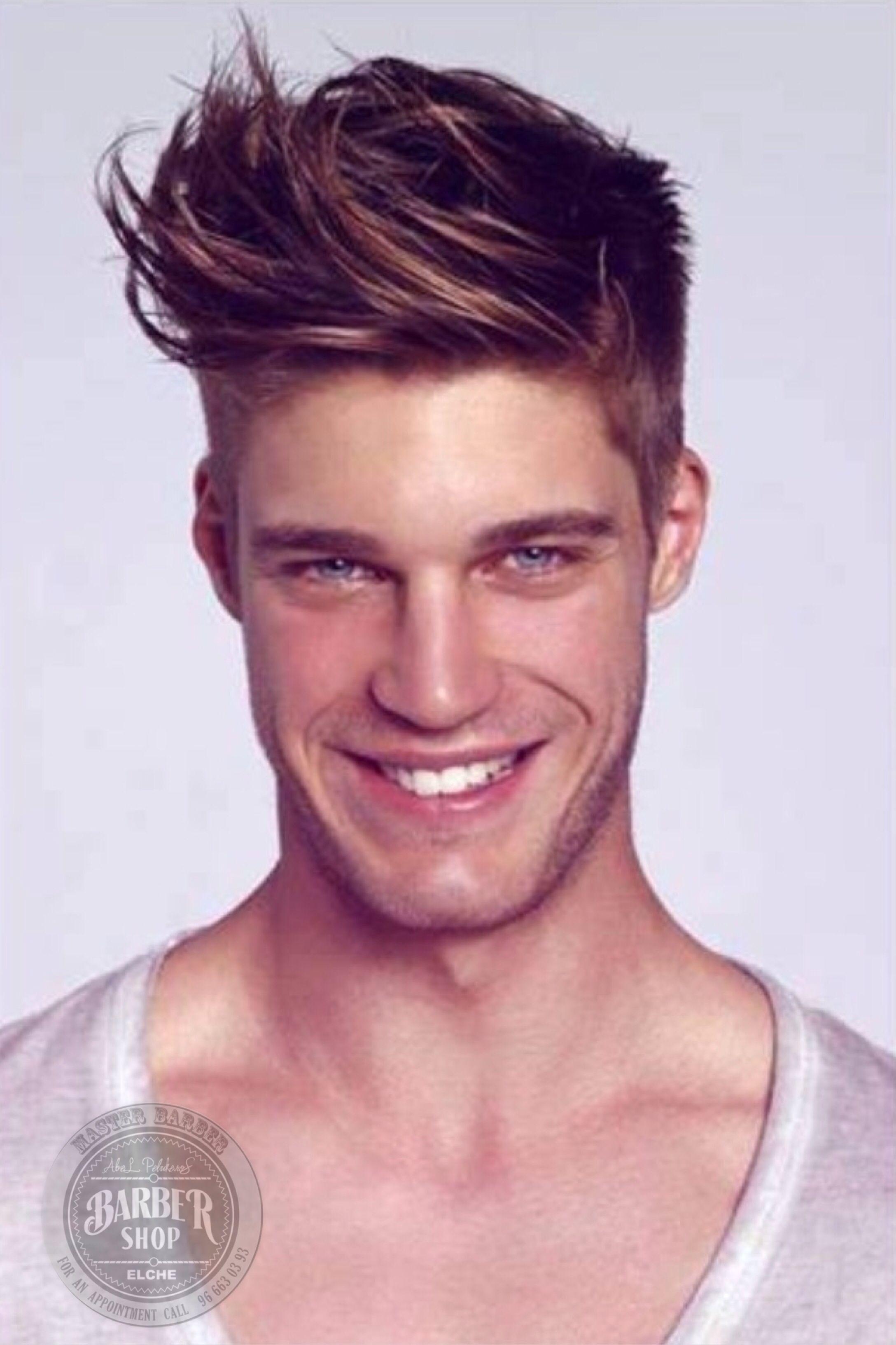 Men\'s haircut, men\'s hairstyles, corte de pelo hombre, peinados ...
