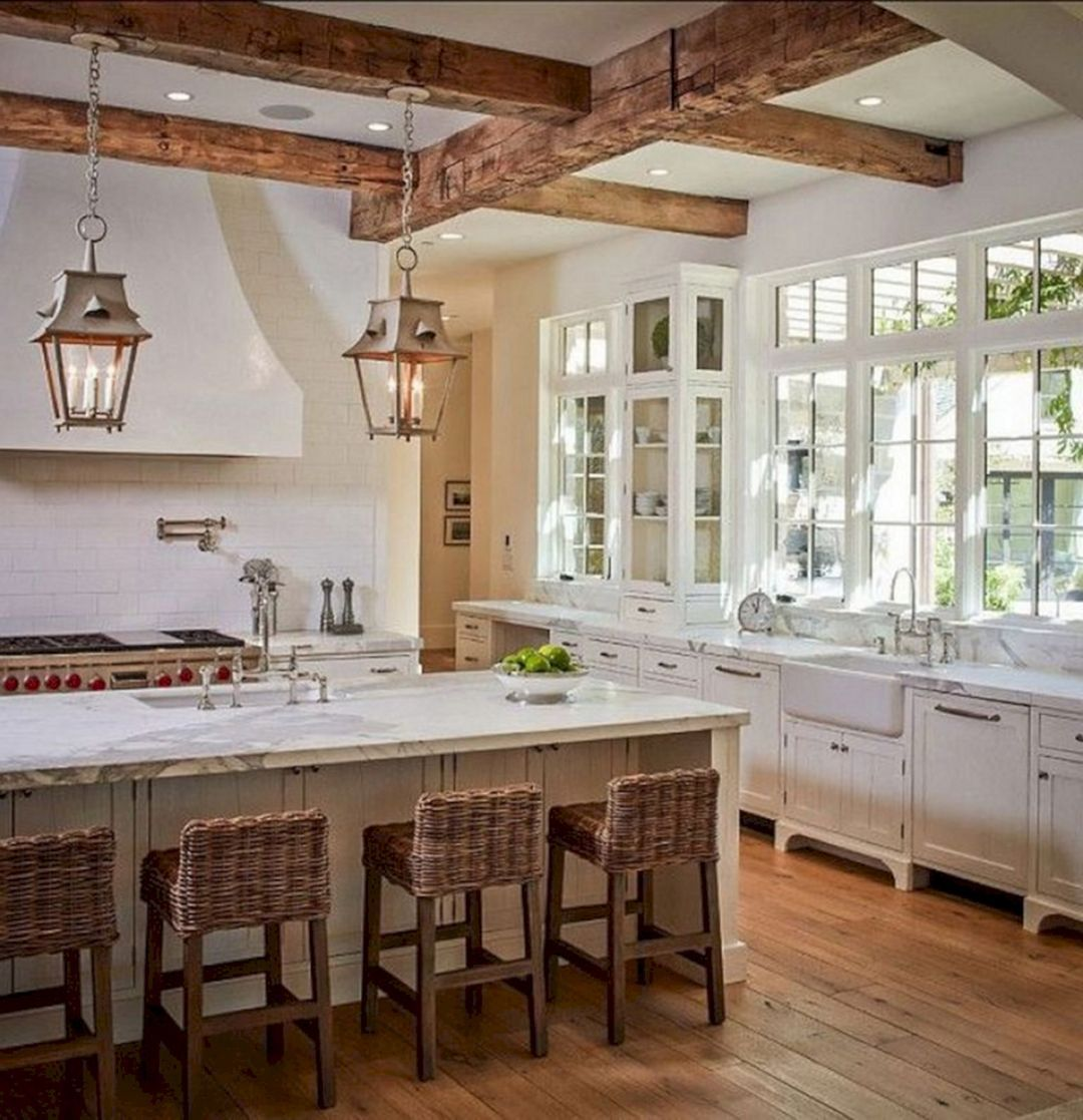 15 best awesome farmhouse kitchen decorating style ideas on best farmhouse kitchen decor ideas and remodel create your dreams id=39338