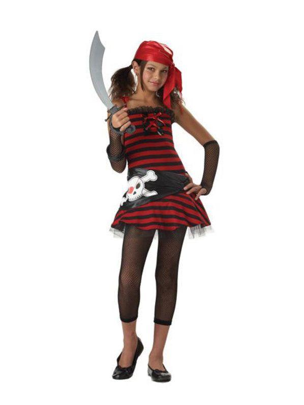 Halloween Teen Pirate Cutie - Kids Costume Halloween costumes for - halloween teen costume ideas