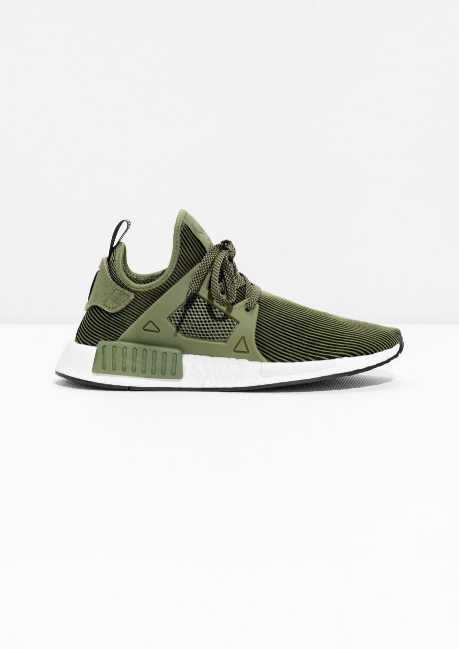 bf0bb6746 Clothes ·   Other Stories image 1 of adidas NMD XR1 PK in Green