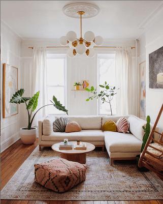 L'appartement déco bohème chic de Mallory - Le Blog déco de MLC