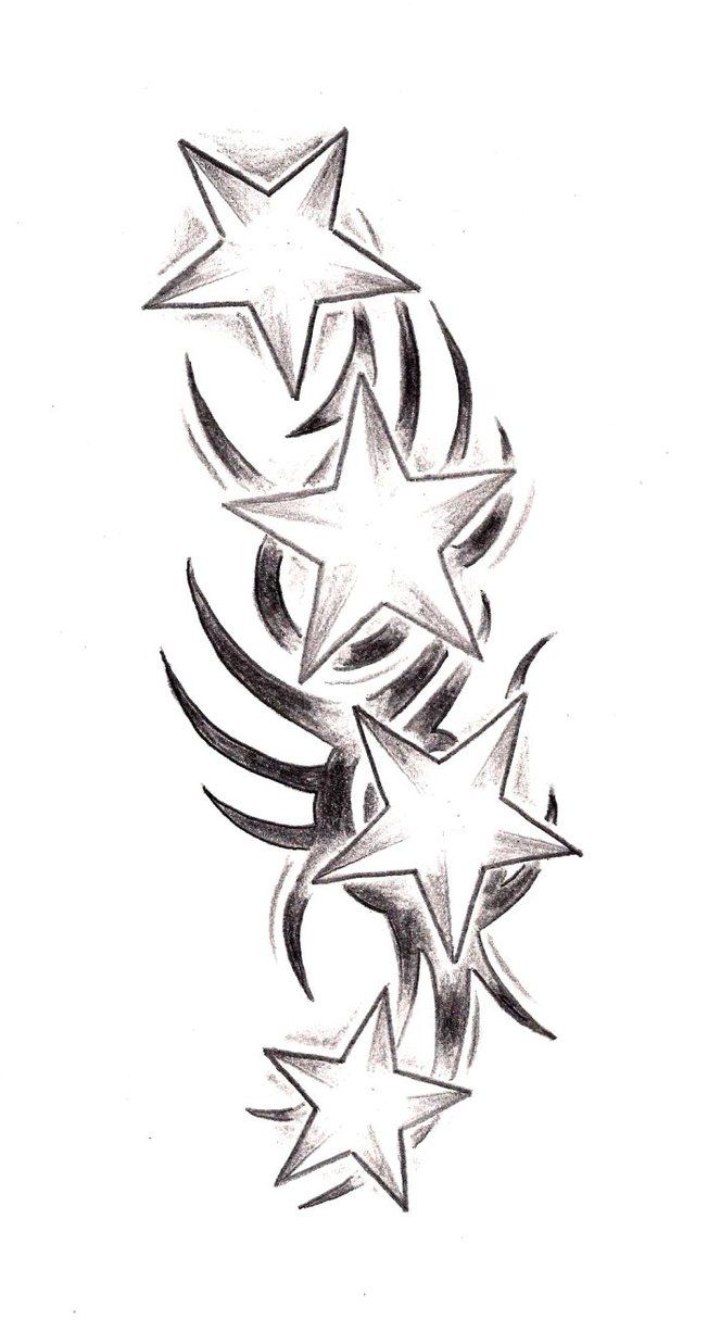 Fddf6f1391bfc7bd14c1342201e5a6c7 Jpg 652 1226 Star Tattoos Star Tattoo Designs Sketch Tattoo Design