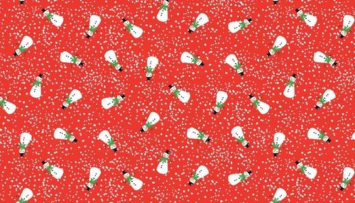 Christmas Snowmen Red - Cotton http://www.elephantinmyhandbag.com/all.php#!/Christmas-Snowmen-Red-Cotton/p/50002161/category=2526021