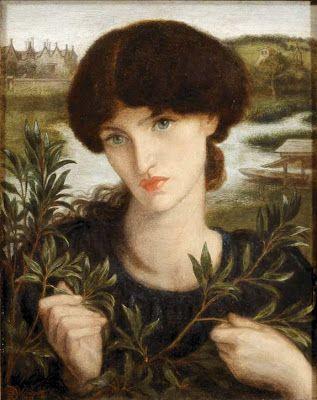 Dante Gabriel Rosetti - Water Willow