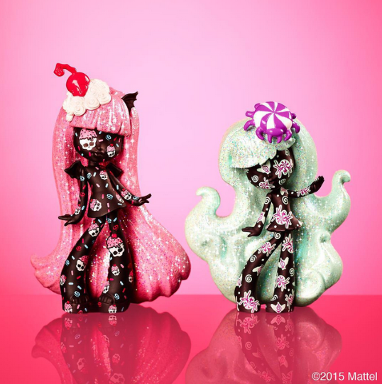 Monster High Vinyl Figures - Release Date: Spring 2016? Rochelle and Twyla Wave 3 Chase Variants from Target!