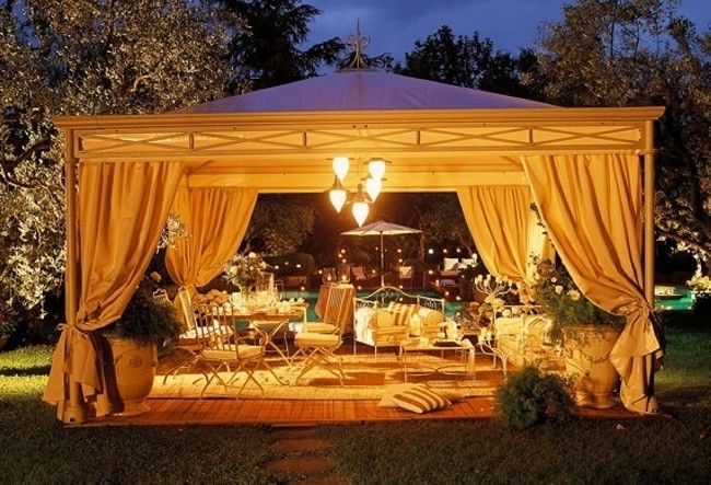 Awesome Gazebo Decorating You Can Do It Yourself Gazebo Lighting