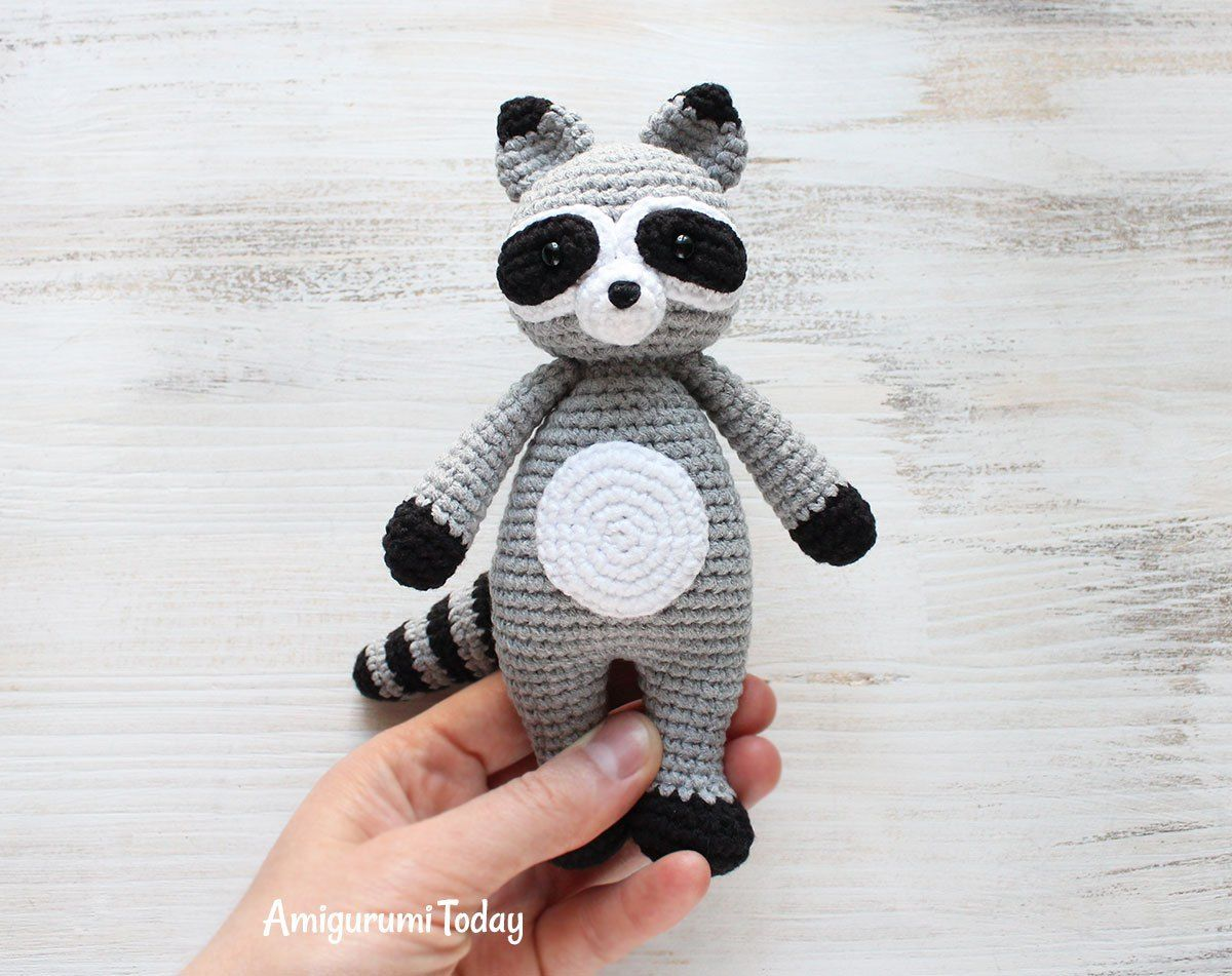 Cuddle Me Raccoon Amigurumi - Patrón de crochet libre | amigurumi ...