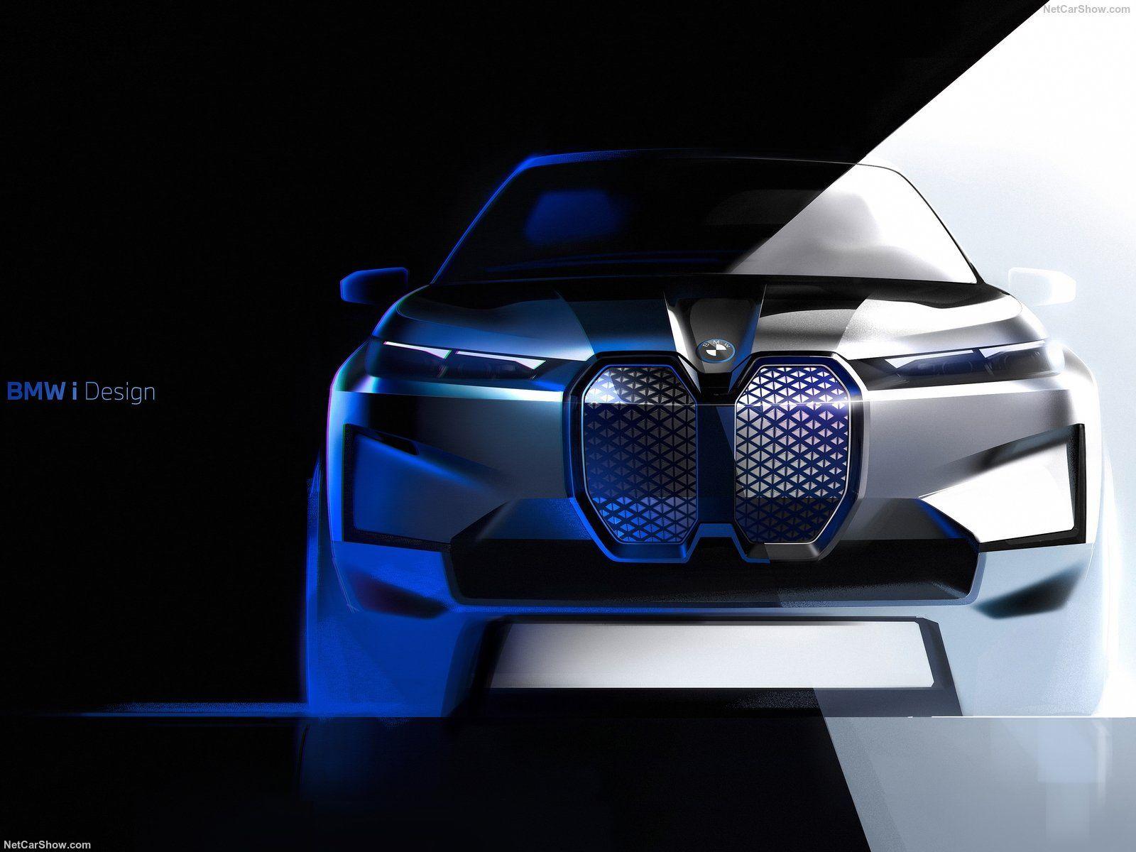 Bmw Ix In 2020 Bmw Design Bmw Car Design Sketch