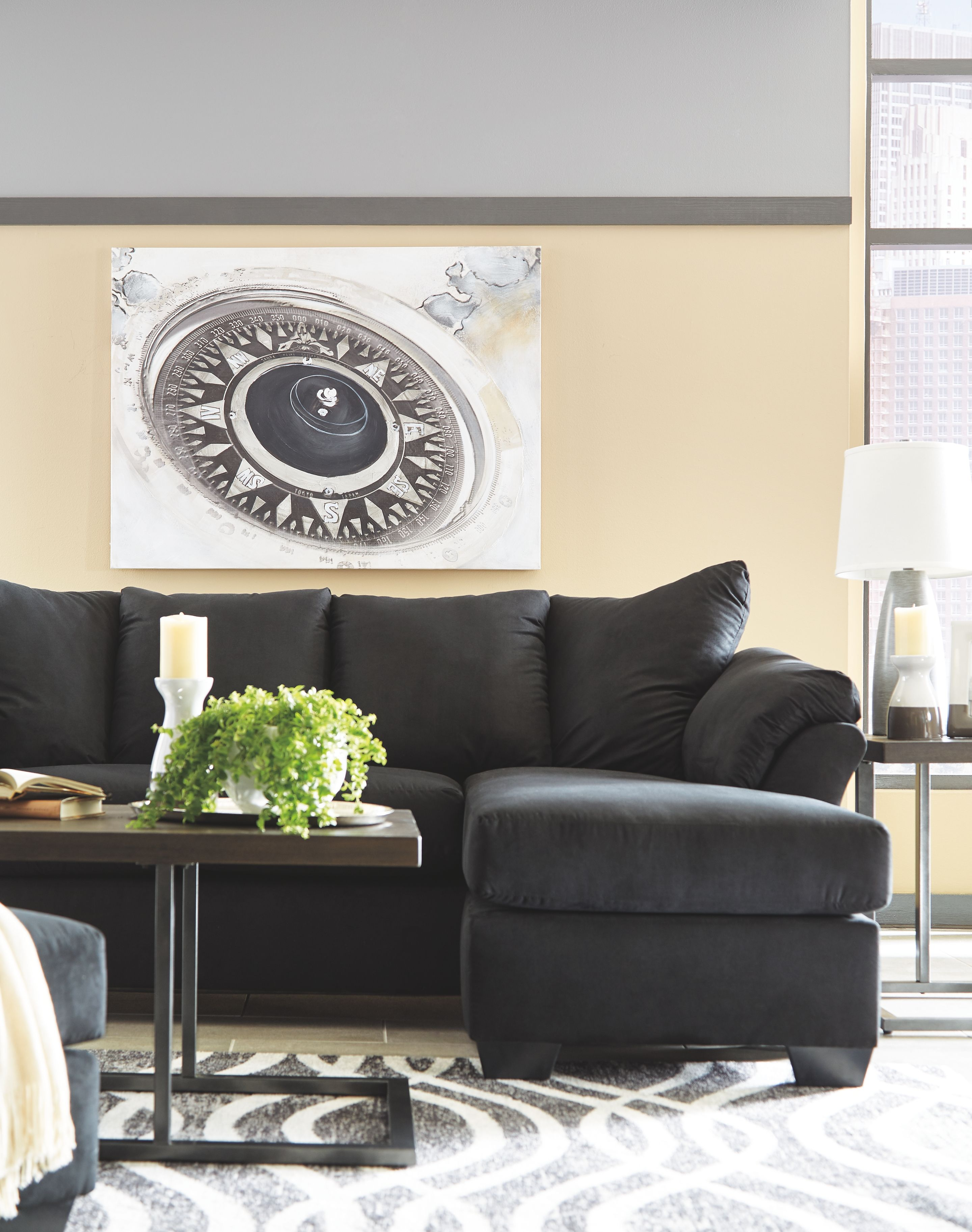Fantastic Darcy Sofa Chaise Loveseat Black Products Living Room Gmtry Best Dining Table And Chair Ideas Images Gmtryco