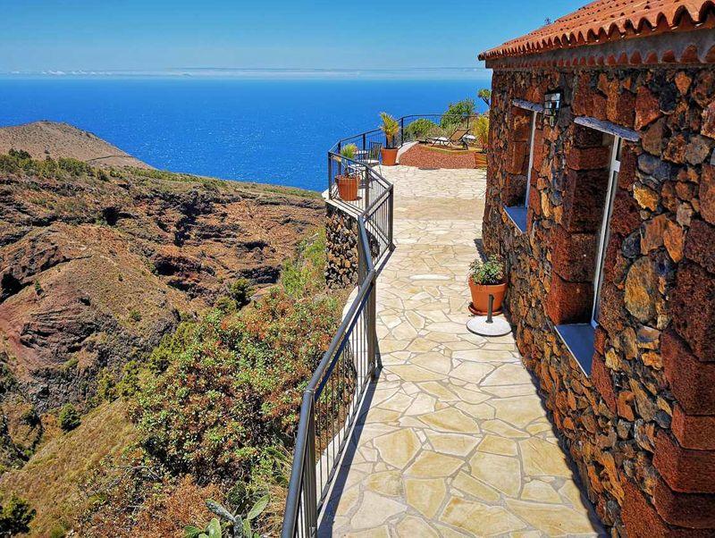 Ferienhaus bei Las Tricias an der Westküste von La Palma